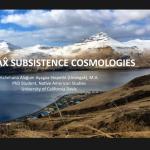 Вебинар: «Участие коренных народов в процессе ASM3: вклад в арктическую науку и исследования»