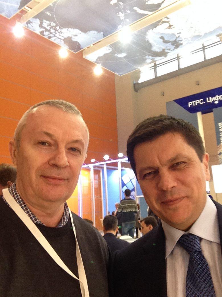 Конгресс Национальной ассоциации телерадиовещателей, Брыксенков Андрей Александрович и  ФГУП «РТРС» Виктор Пинчук