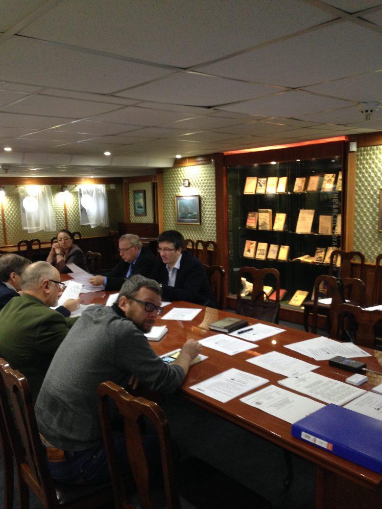 Заседание рабочей группы ТК187