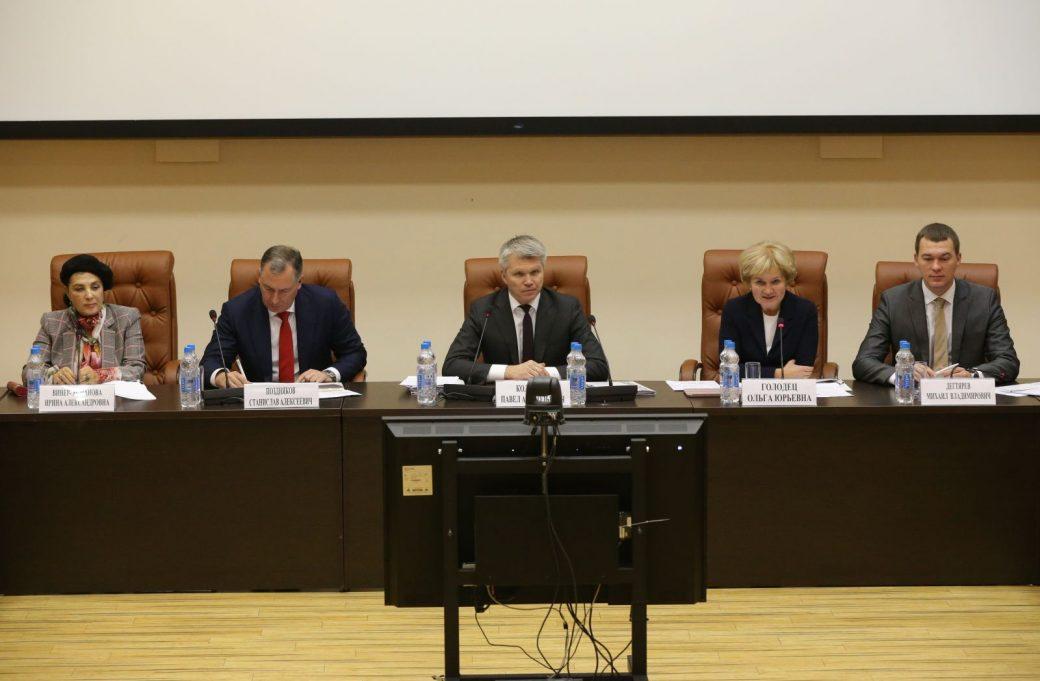 Расширенное заседание коллегии Министерства спорта Российской Федерации.