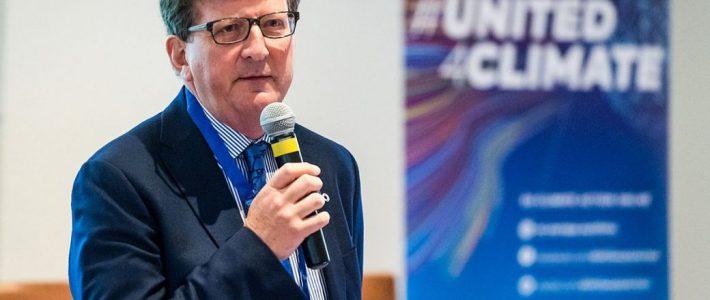 Вебинар «Беседа с Мауро Петриччоне, Генеральным директором по изменениям климата Европейской комиссии», организованный Университетом Джоржа Вашингтона (США)