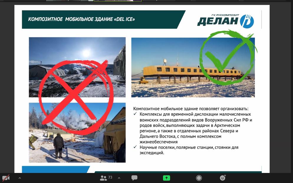 встреча StartUp клуба по бизнес-проектам Арктической зоны