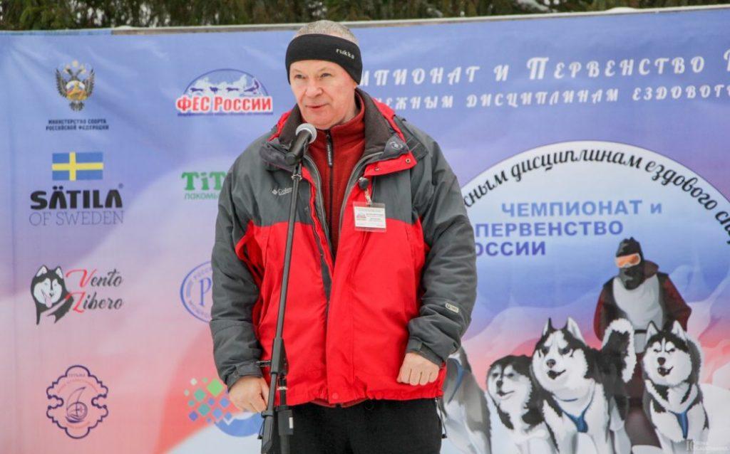 Ежегодный Чемпионат и Первенство России по ездовому спорту Брыксенков Андрей Александрович