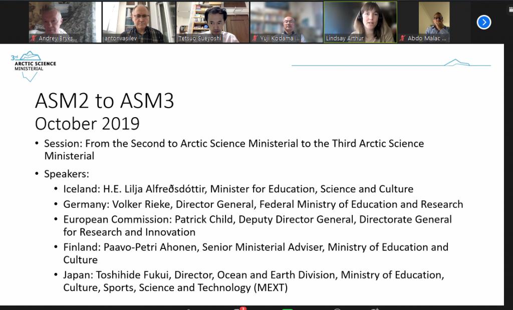 Заседание «контактных точек» стран, участвующих в процессе передачи полномочий ASM3-ASM4 в формате ВКС