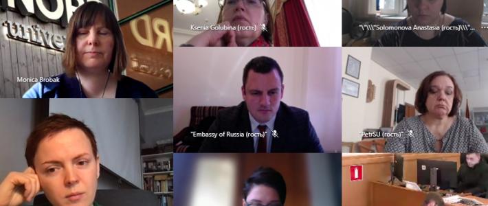 IX заседание Российско-Норвежской Рабочей группы по сотрудничеству в сфере образования в формате ВКС
