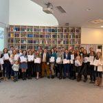 Награждение лауреатов Конкурса научных и дипломных работ за 2019 год в библиотеке Центра международных и сравнительно правовых исследований