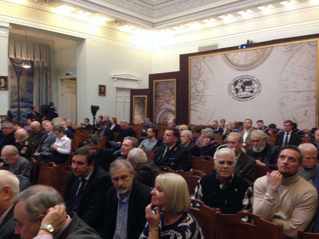 Заседание Полярной комиссии РГО