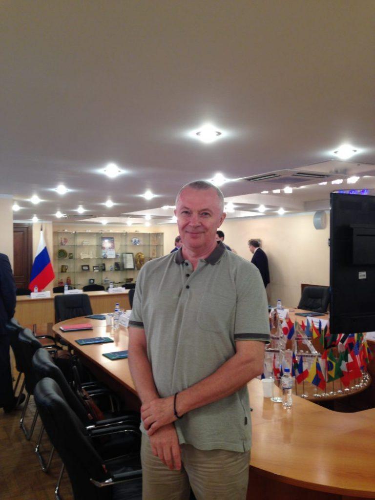 Cовещание в Россотрудничестве, посвященное совместным проектам России и Уганды Брыксенков Андрей Александрович