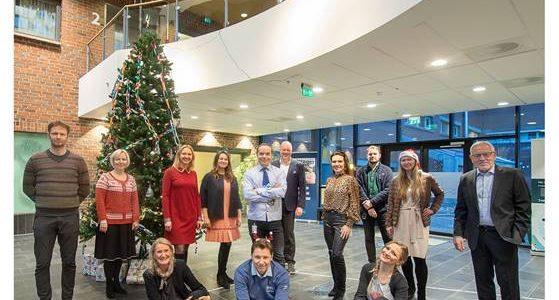 NORD University (Норвегия) поздравляет коллег из РГГМУ с Рождеством и Новым годом.                                        5/5(2)
